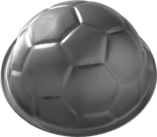 Birkmann - Molde de Tarta con Forma de balón de fútbol: Amazon.es ...