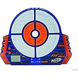 Jazwares Nerf Elite Digitale Zielscheibe 11509 interaktive Zielscheibe mit Licht und Sounds und verstellbarem Standbein, trainiere alleine oder im Team