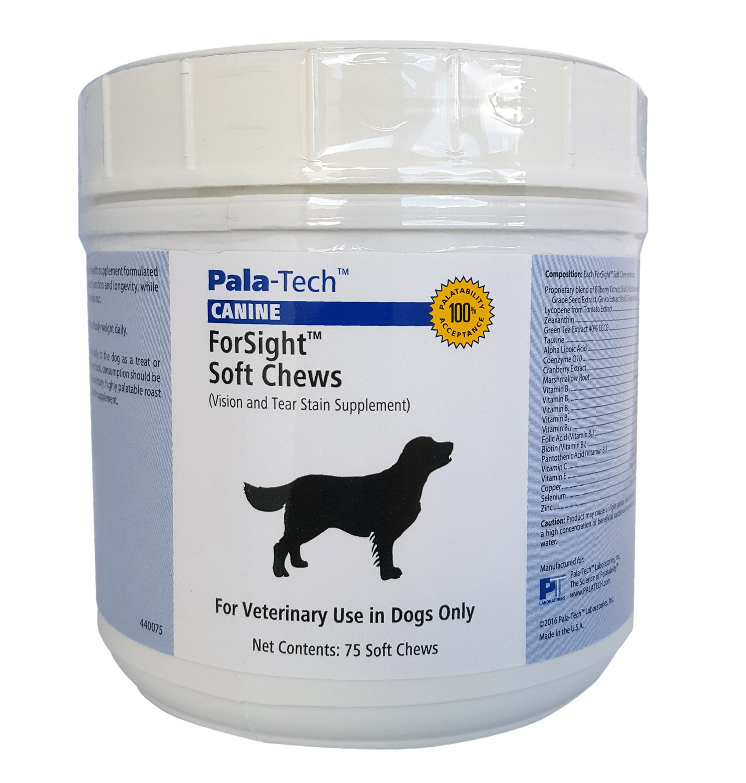 Pala Tech Canine Forsight Soft Chews
