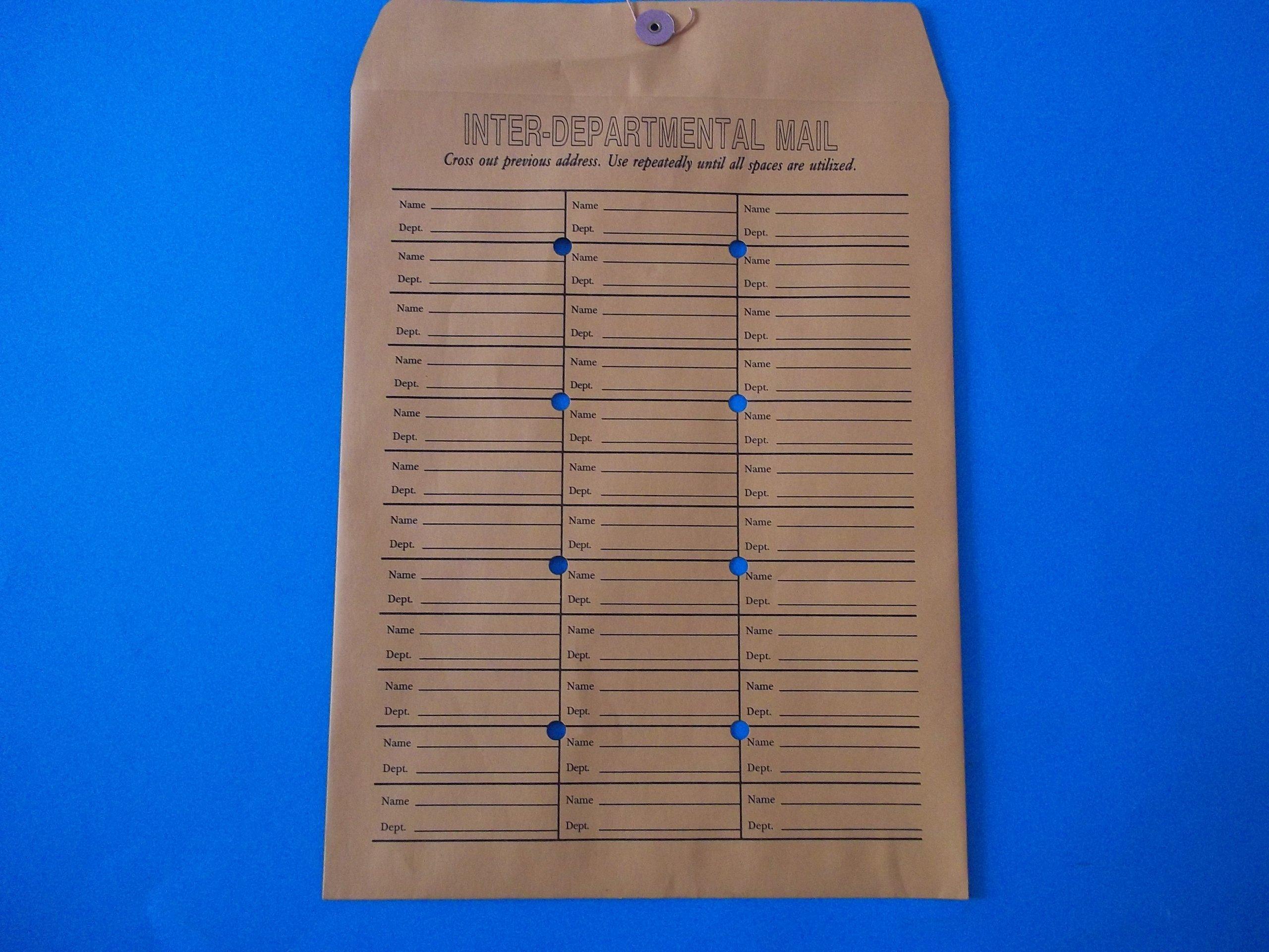 Emco Inter-Departmental Envelopes 10'' x 13'' Sold by the Dozen