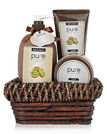 Amazon.com : -Deluxe Spa Gift Basket. BEST Birthday Gift & Thank ...