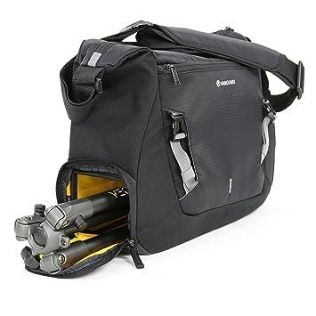 Veo Discover 38 - Bolsa fotográfica tipo messenger para cámara y trípode