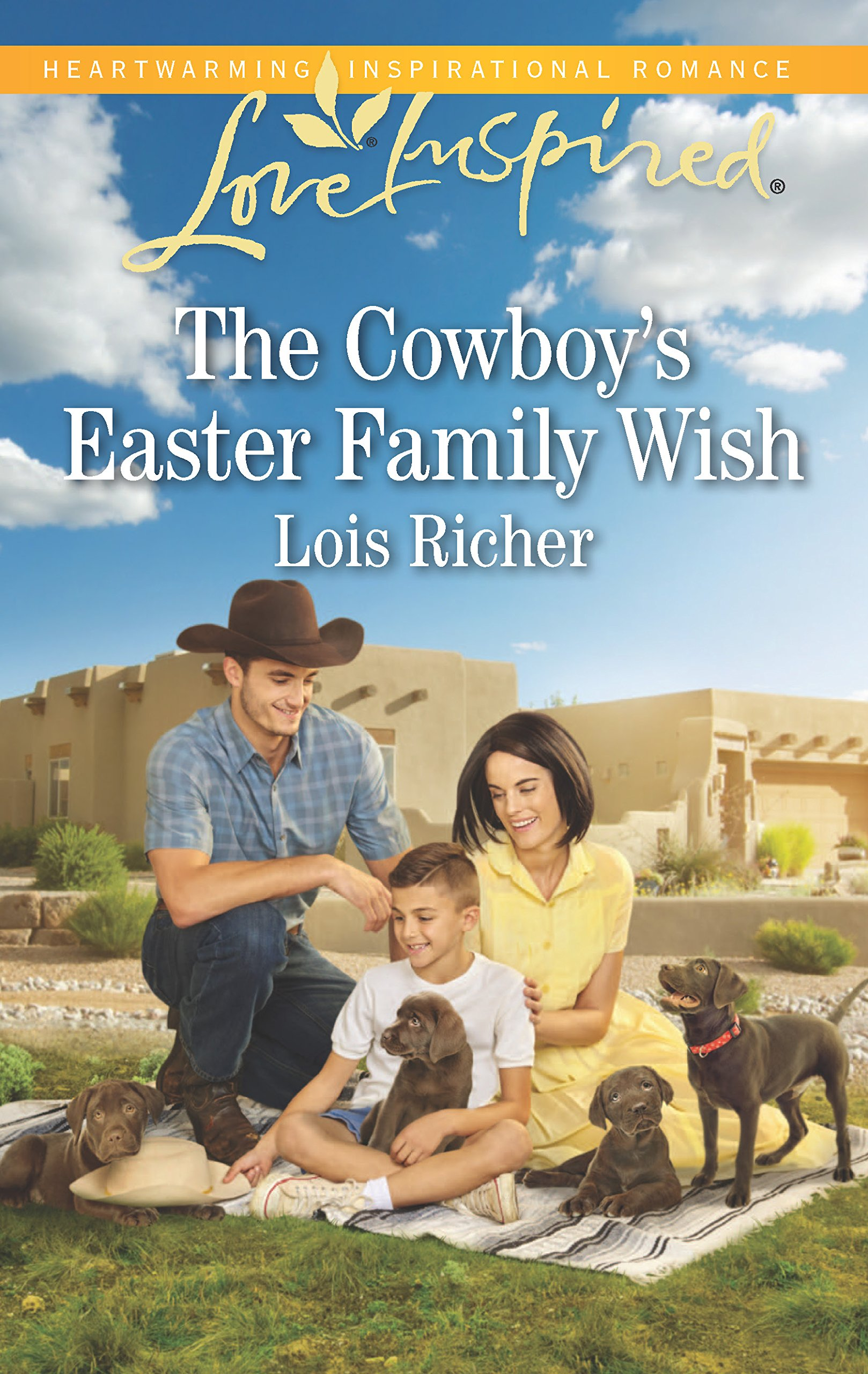 The Cowboys Easter Family Wish Wranglers Ranch Lois Richer 9780373622672 Amazon Books