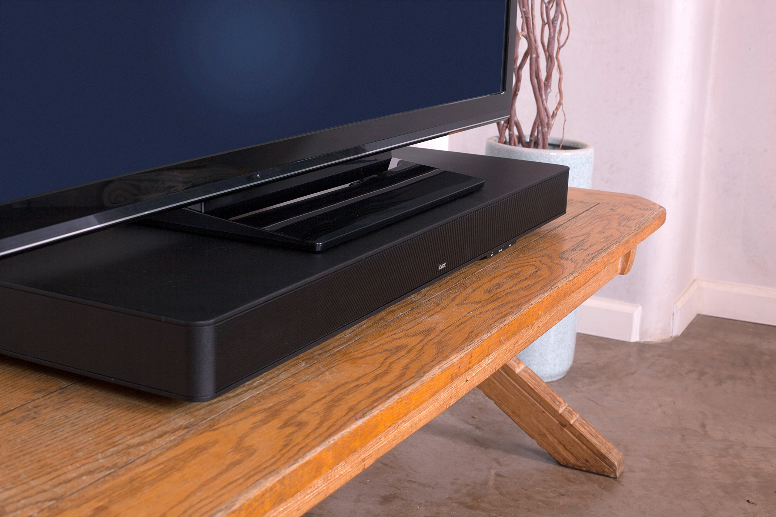 "ZVOX SoundBase 770 42"" Sound Bar with 3 Built-In Subwoofers, Bluetooth, AccuVoice by ZVOX"