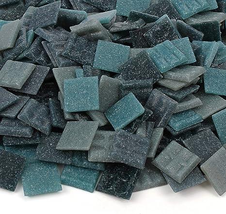 3//4 Inch 20mm Milltown Merchants/™ Black and Tan Mosaic Tiles Craft and Backsplash Tile 3 Pound 48 oz Bulk Mosaic Tile Assortment Mixed Colors Venetian Glass Tile