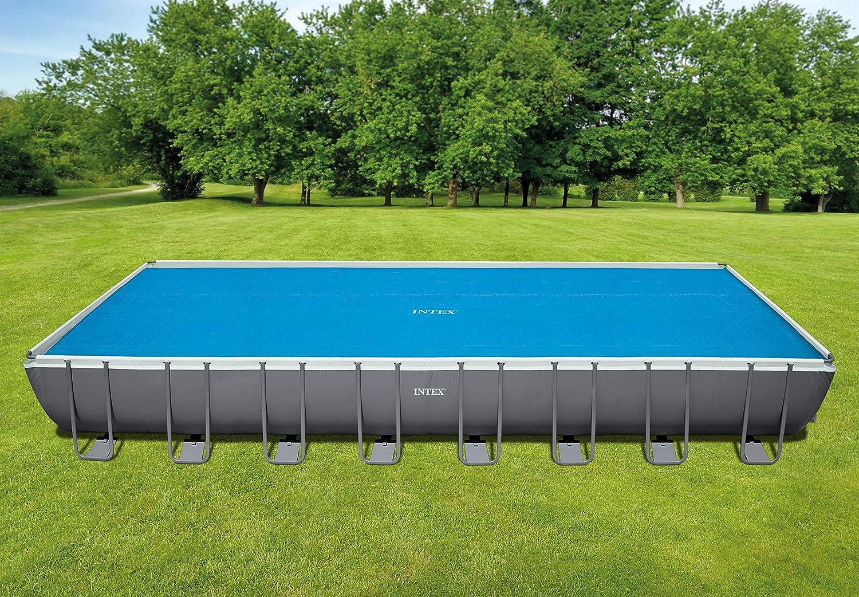 Intex 29030 - Cobertor solar para piscinas rectangulares de 975 x 488 cm