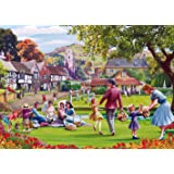 Picnic on the Garden - Mat Edwards - 1000 Piece Jigsaw Puzzle