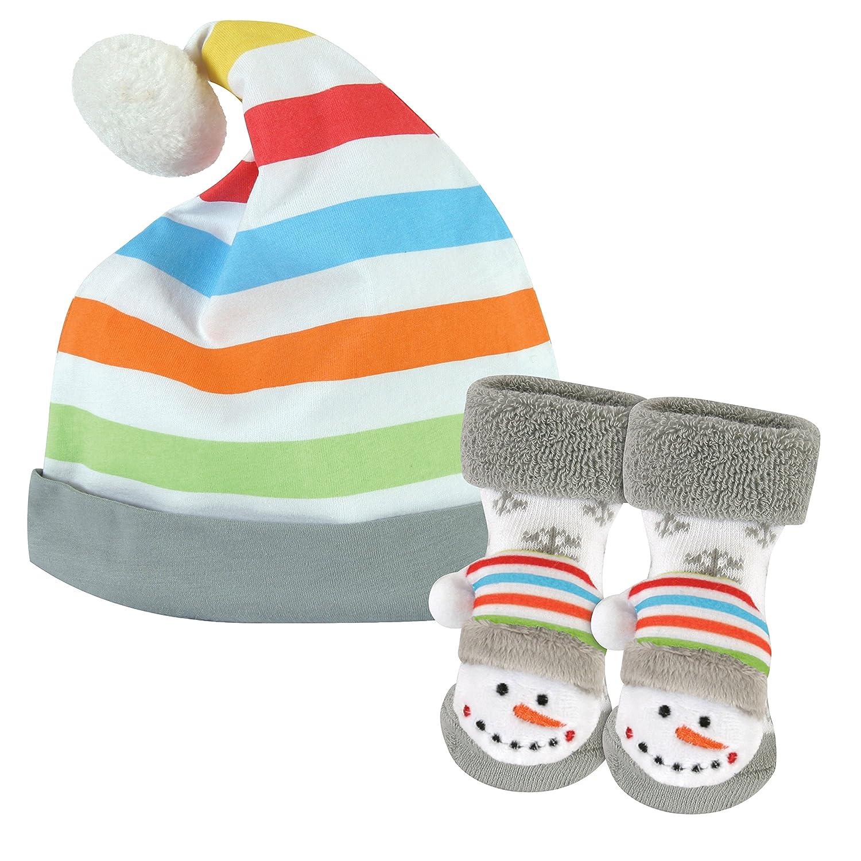 Amazon.com: Stephan bebé sonajero calcetines y rayas Knit ...