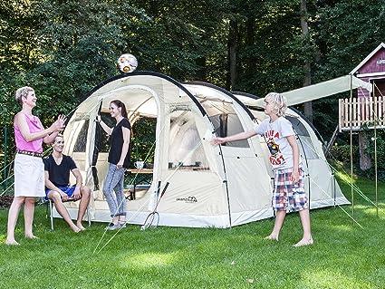 skandika Gotland 4 - Tienda de campaña unisex, color beige: Amazon.es: Deportes y aire libre
