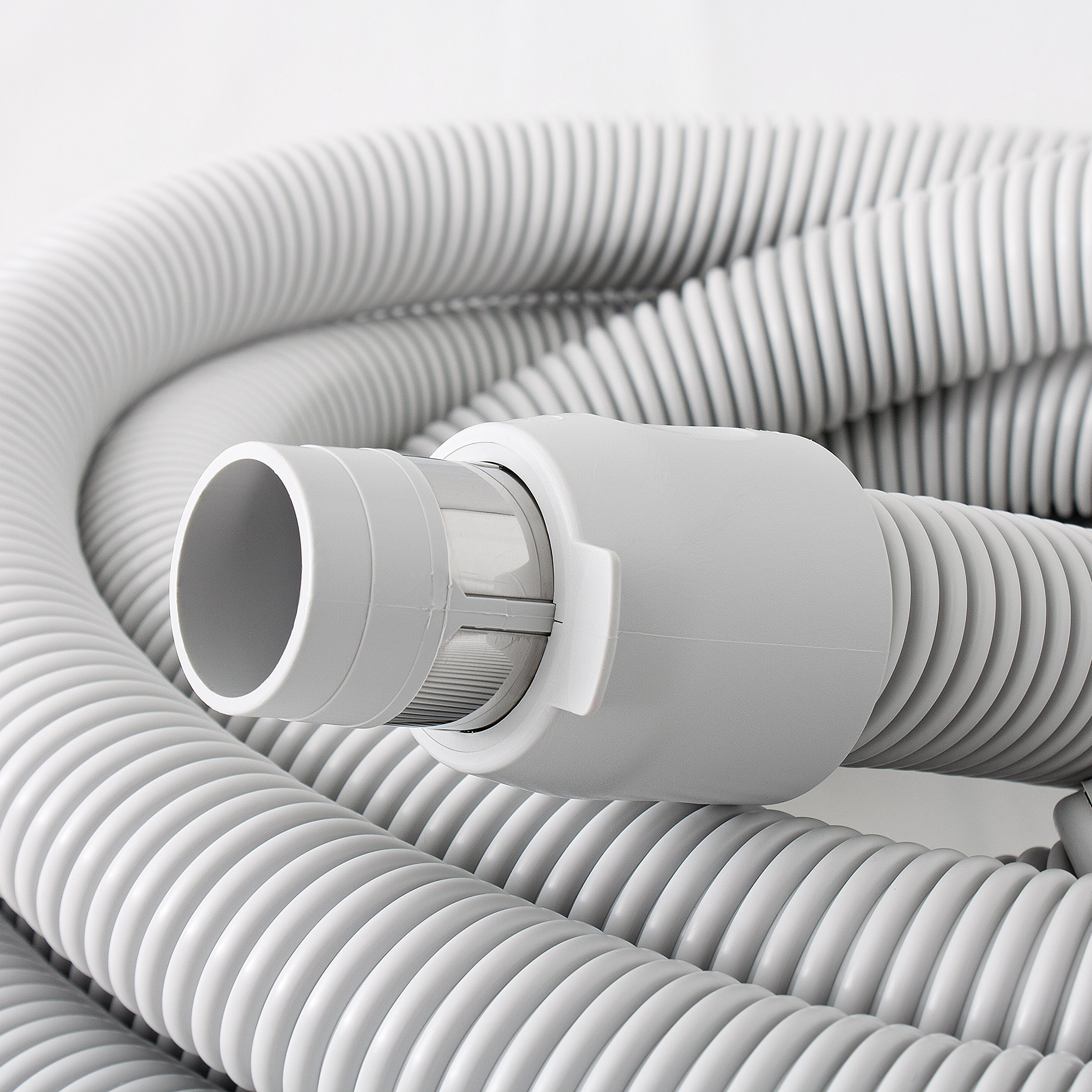 Central Vacuum Deluxe Hardwood, Bare floor and Carpet Kit with 30ft Hose and Accessories by Plastiflex (Image #3)