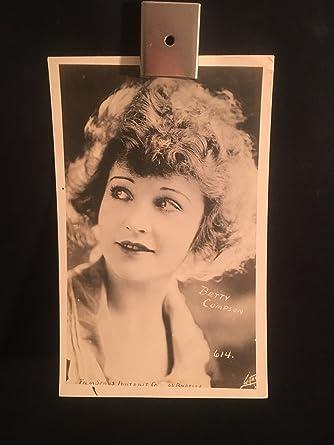 Photographs Betty Compson Silent Star Original Vintage 20s Signed Autographed Portrait Photo The Latest Fashion