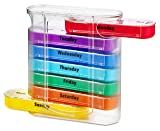 MEDca Weekly Pill Organizer, Four Times-a-Day, 1