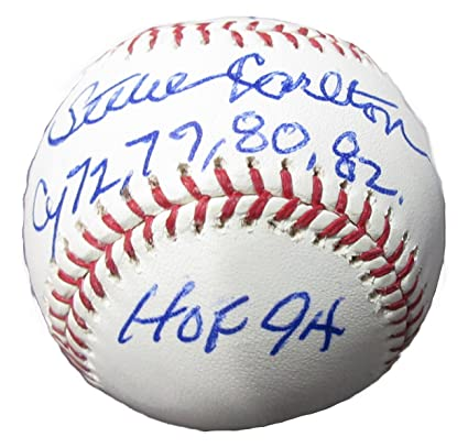 "Steve Carlton Autograph Signed Omlb Inscribed ""329 Ws"" Authenticated Autographs-original Baseball-mlb"