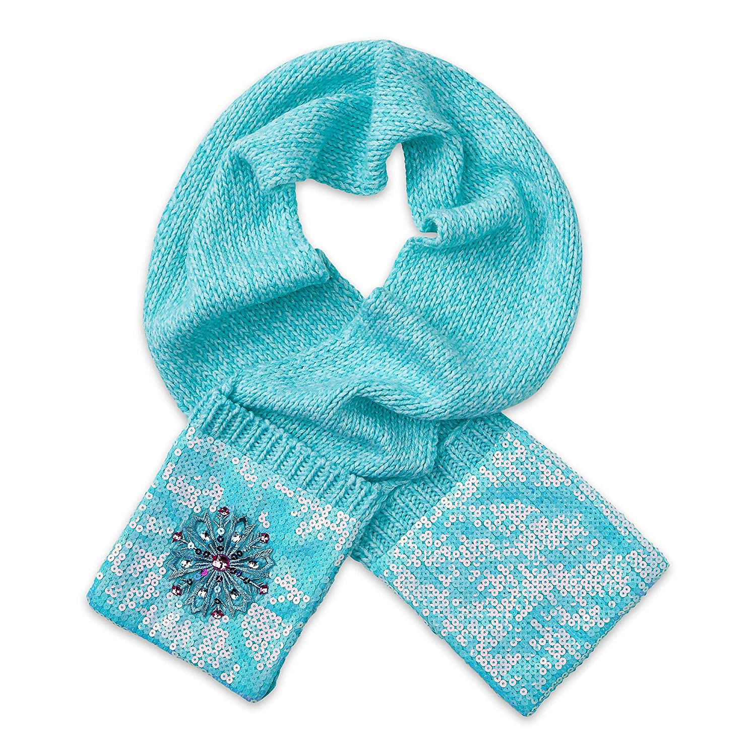 Disney Frozen Knit Scarf for Kids Light Blue 427509244474