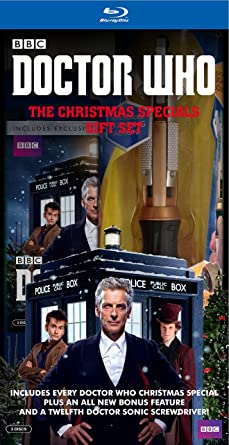 Dr Who Christmas Special.Amazon Com Doctor Who Christmas Specials Giftset Blu Ray