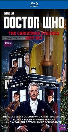 Doctor Who Christmas Specials.Amazon Com Doctor Who Christmas Specials Giftset Blu Ray