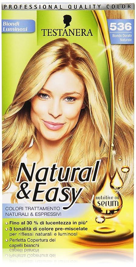 Testanera Naturaleasy Tinta Per Capelli Biondo Dorato Naturale 536 135 Ml