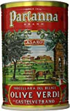 Partanna Premium Select Castelvetrano Whole Olives - 5.5 lbs