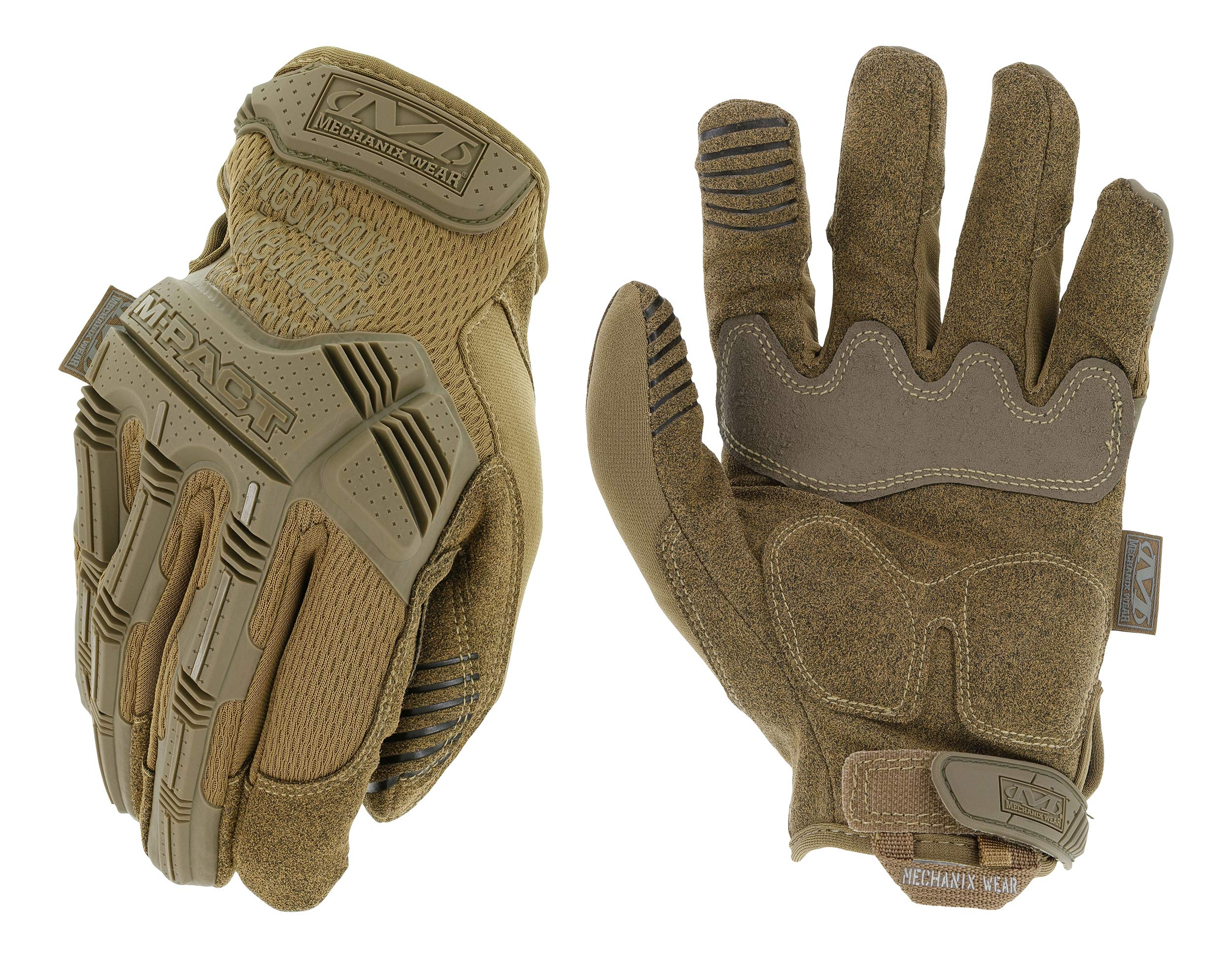 Mechanix Wear - M-Pact Coyote Tactical Gloves (Large, Brown) by Mechanix Wear