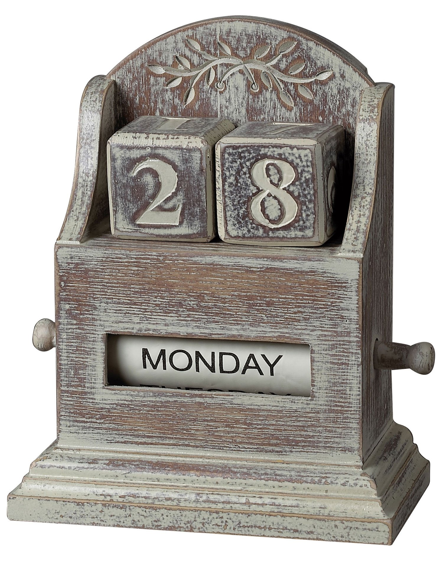 Sterling 89-8011 Washed Wood Date Keeper, 6-1/2 by 7-1/2-Inch, Londrina