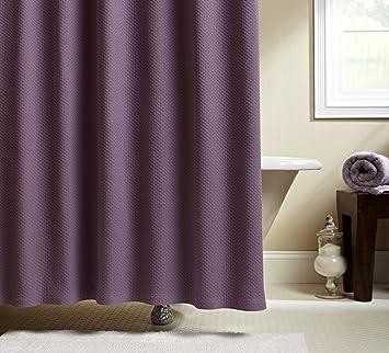 plum shower curtains. Pinzon Signature Diamond Matelasse Shower Curtain, Plum Curtains O