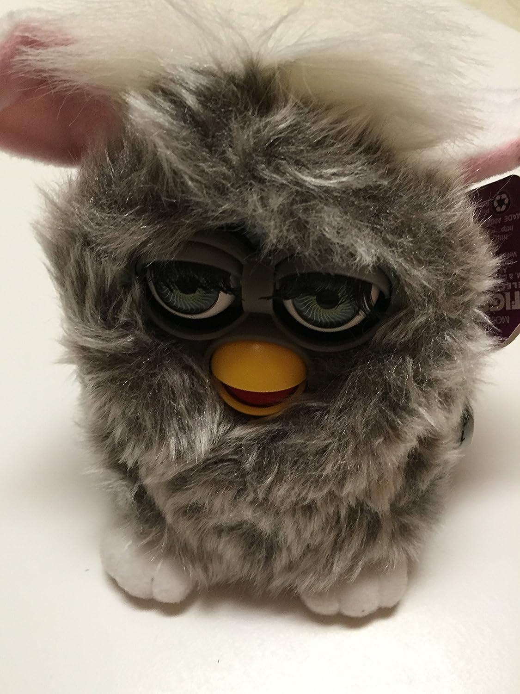 B001IULN5M Furby Model 70-800 Owl Gray Shag / Long Hair Electronic Furbie 916bVPTc2aL.SL1500_