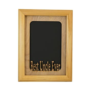 best uncle ever 5x 7 photo frame