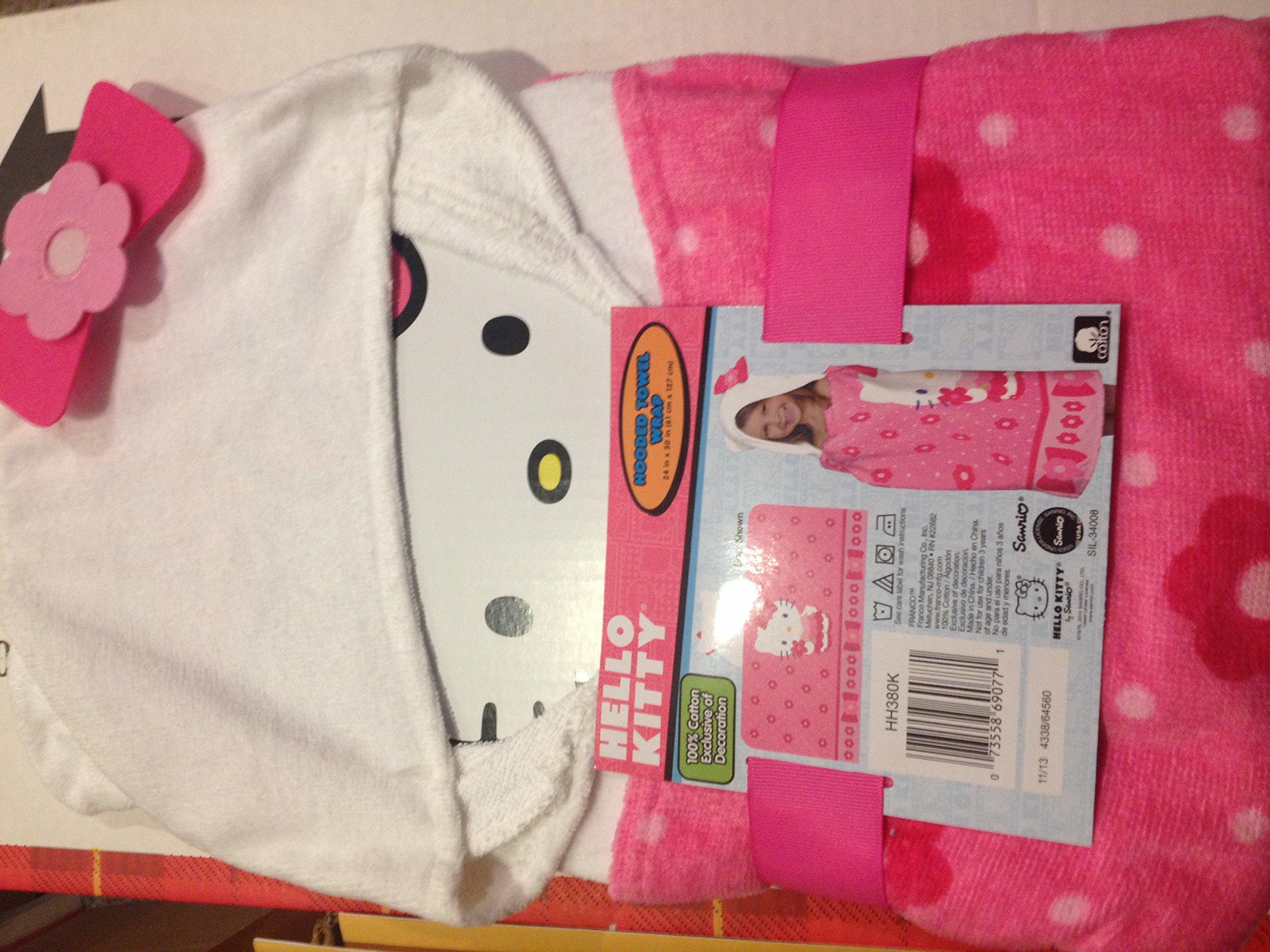 Hello Kitty Hooded Towel Wrap #4338/64560