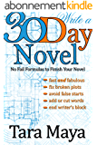 30 Day Novel (How to write a book in a month) (English Edition)