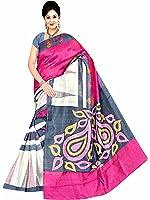 Winza Designer Cotton Saree with Blouse Piece