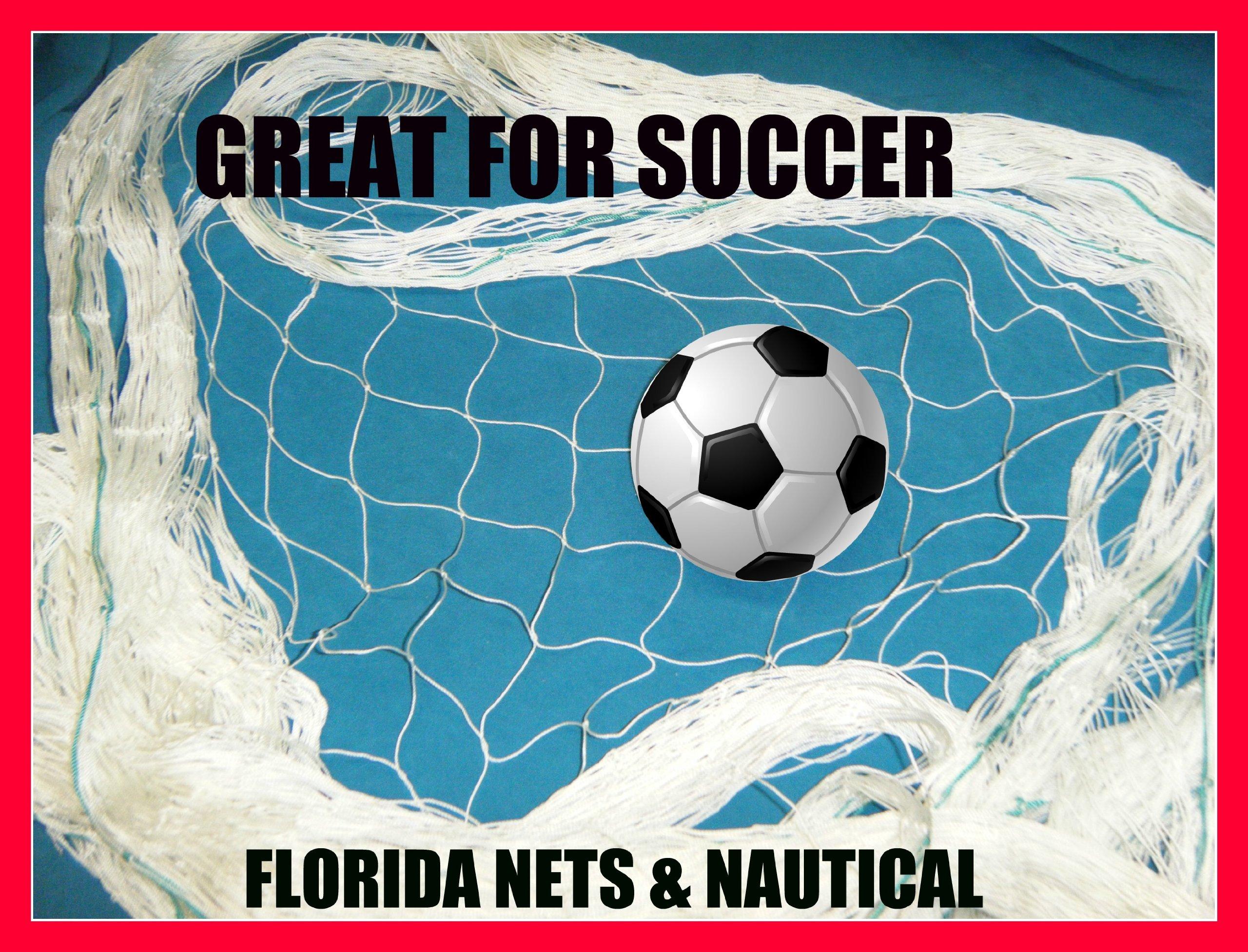 75x25 Fishing Net Soccer Basketball Softball Sports Fish Net Netting Cage
