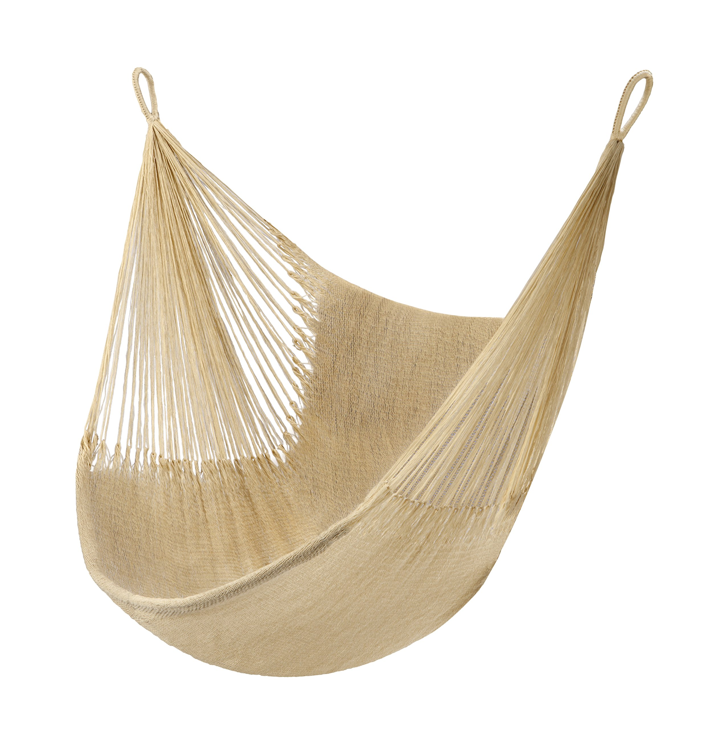 Yellow Leaf Hammocks SHA Hammock, Big Sur - 100% hand-woven with over 2 miles of yarn Maximum Capacity: 330 lbs Optimal Hanging Distance: 3-5 ft - patio-furniture, patio, hammocks - 916bm1M8ZlL -