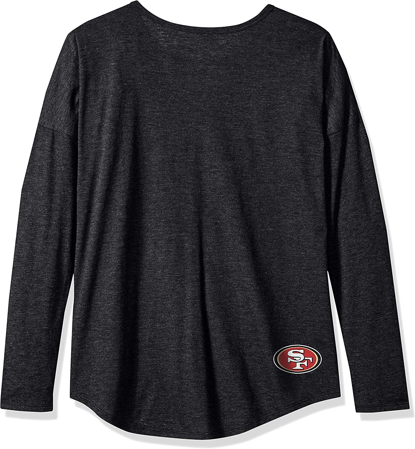 NFL Womens OTS Triblend Long Sleeve Dolman Tee
