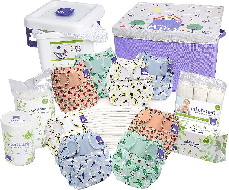 6.3 kg Bambino Mio Bugs Life Miosoft Premium Birth to Potty Pack