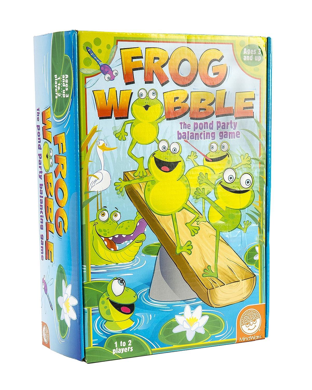 ずっと気になってた [マインドウェア]MindWare Wobble Frog Wobble Frog Game 56199 Game [並行輸入品] B009AEXW48, vie jewelry:1ed1c889 --- mrplusfm.net