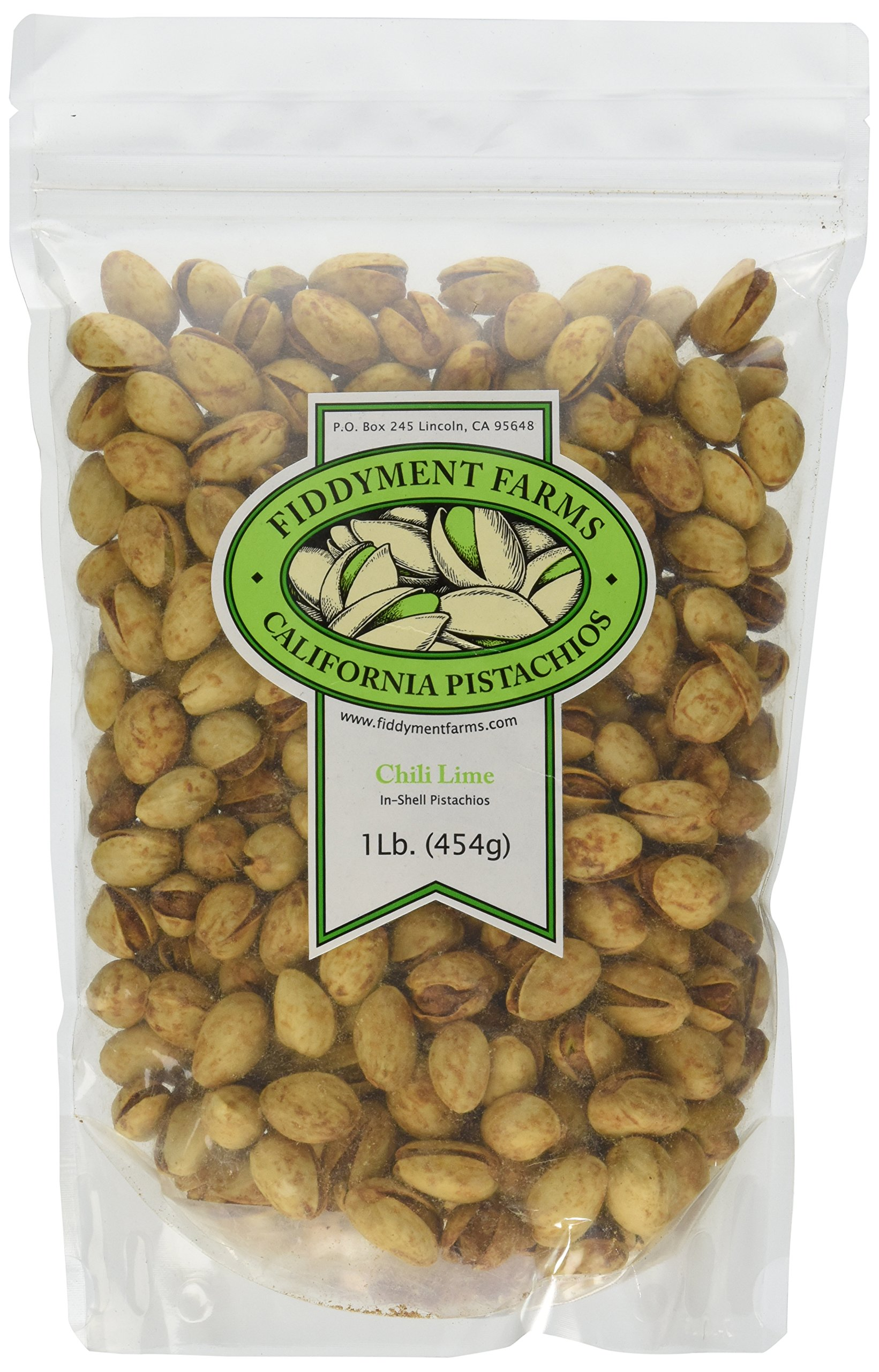 Fiddyment Farms 1 Lb. Chili Lime Pistachios by Fiddyment Farms