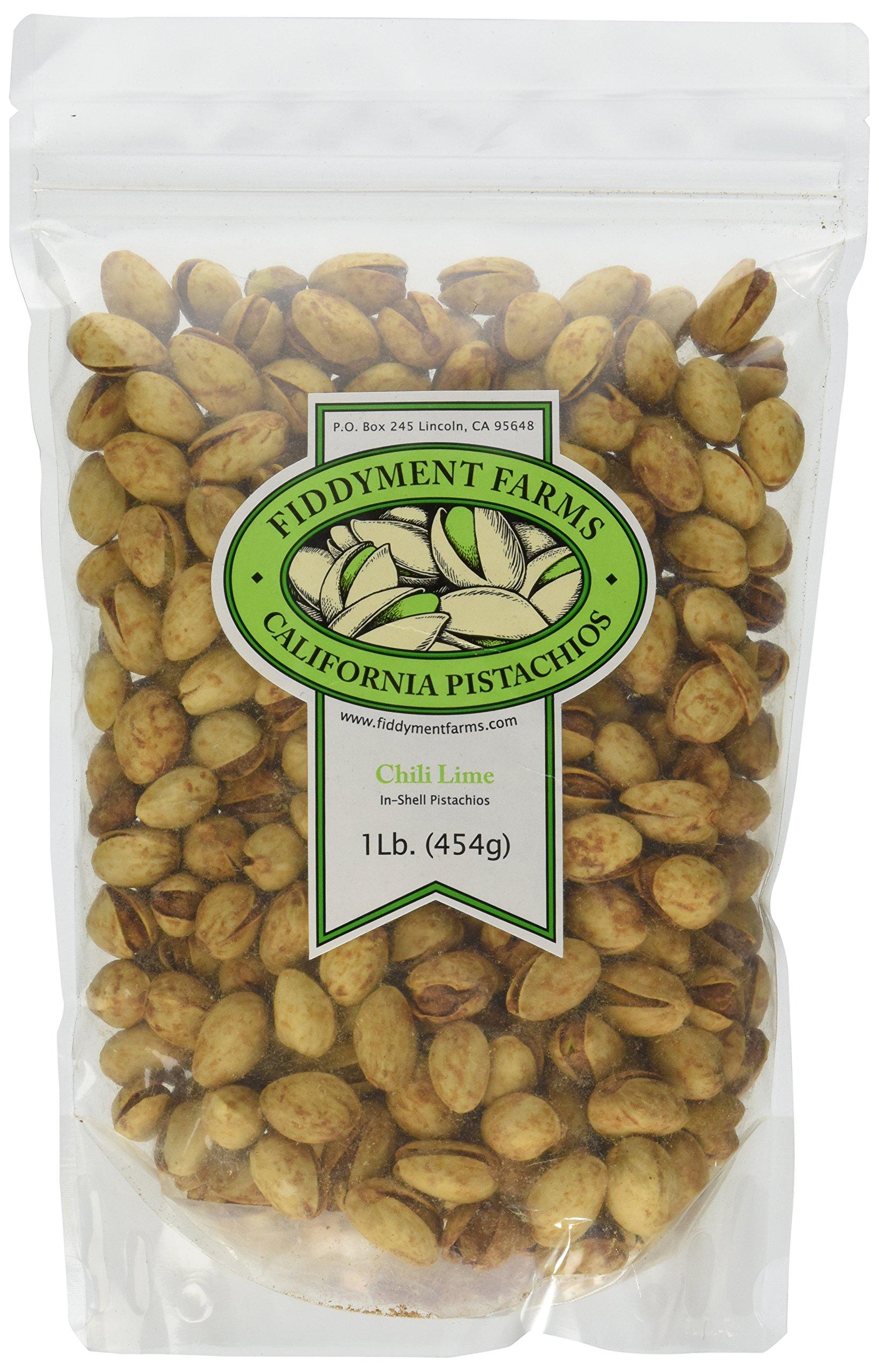Fiddyment Farms 1 Lb. Chili Lime Pistachios