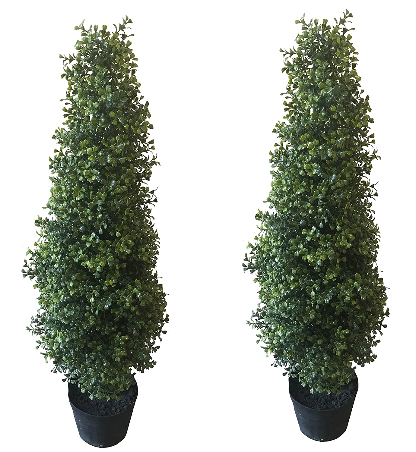Best Artificial 2 3ft Potted Boxwood Tree Buxus