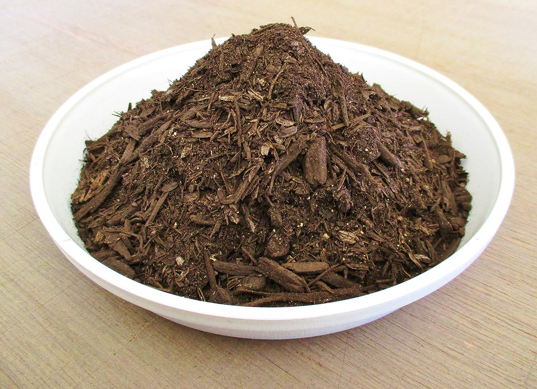 瀬戸ヶ原花苑 菌の黒汁配合バーク堆肥 18L
