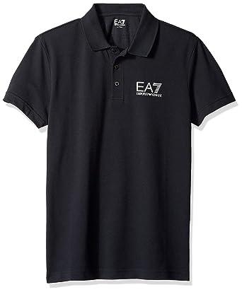 Emporio Armani EA7 Polo T-Shirt Pull Manches Courtes Homme Vert  Amazon.fr   Vêtements et accessoires 16394b3f2de