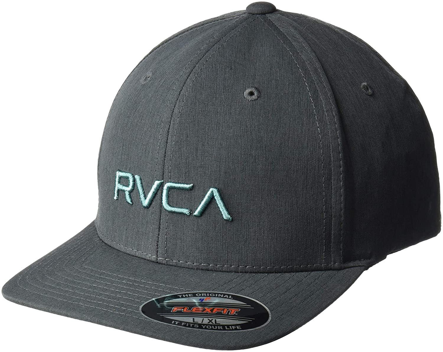 Amazon.com  RVCA Men s Flex Fit Hat  Clothing f70b799c4d69