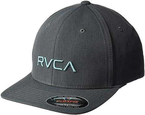 Amazon.com  RVCA Men s Flex Fit Hat  Clothing 55881051410