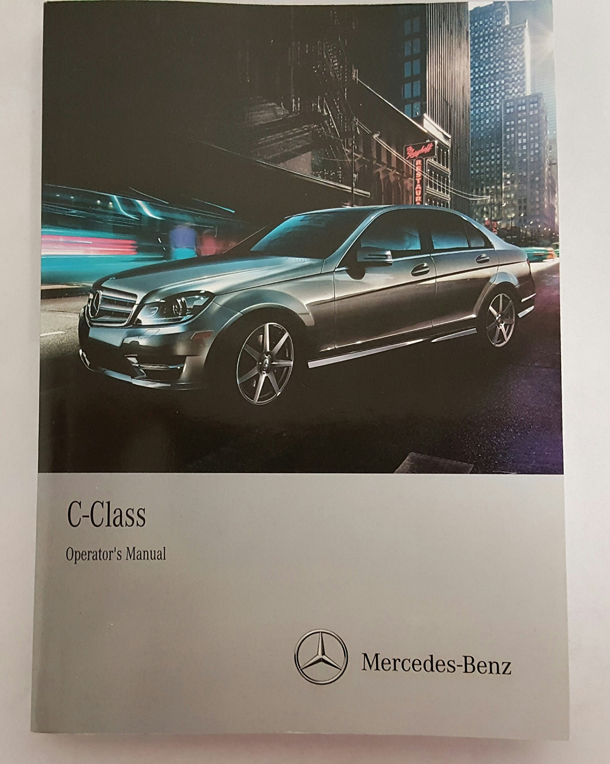 2014 mercedes c class owner s manual set with comand mercedes benz rh amazon com 2012 c250 service manual mercedes c250 owners manual uk