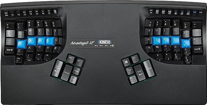 Kinesis Advantage2 LF USB QWERTY Inglés Negro - Teclado (USB ...