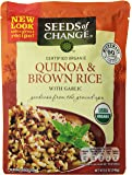 Seeds of Change Quinoa and Brown Rice with garlic, 8.5 Ounce (Pack of 6)