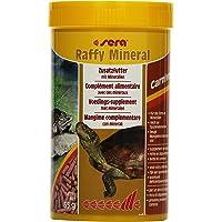 sera raffy Mineral Futter für Wasserschildkröten - schließt Versorgungslücken zuverlässig - schmackhafte schwimmende Futtersticks zur ergänzenden Fütterung