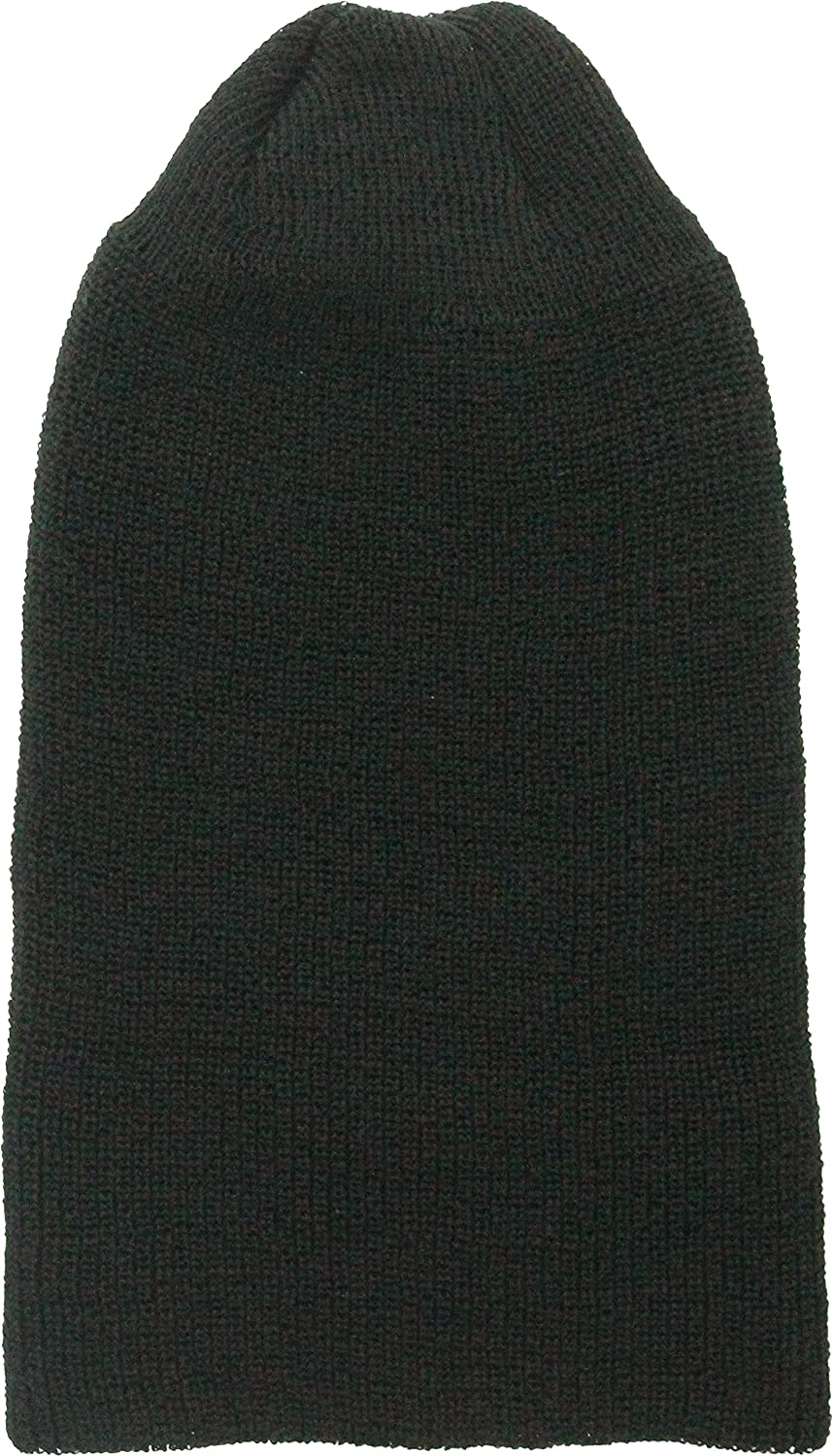 77859968f2f Amazon.com  Military Genuine GI Winter USN Warm Wool Hat Watch Cap (Black)   Clothing