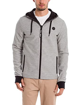 Bench Ottoman Bonded Hoody, Gilet Homme, (Light Grey Marl Winter Ma1052), XX-Large