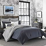 Eddie Bauer Home | Kingston Collection | 100% Cotton Soft and Cozy Premium Quality Comforter with Matching Shams, 3…