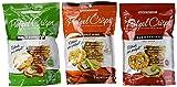 Snack Factory Deli Style Pretzel Crisps 3 Flavor